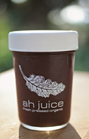 image of one jar of Ah Juice juice